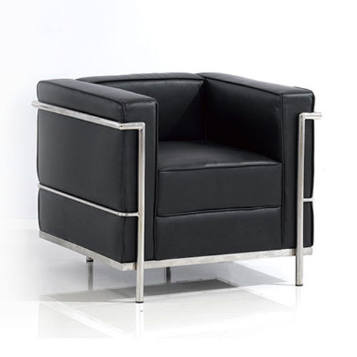 Le-Corbusier-LC2-Chair-black-f5
