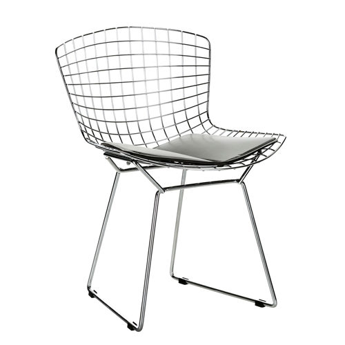 Bertoia Wire Chair_nickel