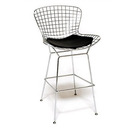 Bertoia Wire Stool_nickel