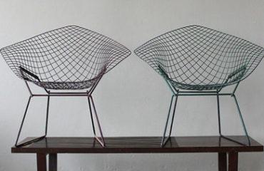 g&v architectural furniture _Bertoia Diamond Chair po7