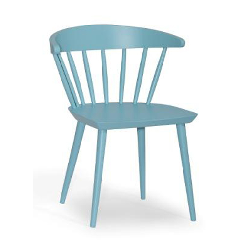 Straight Chair _ cyan