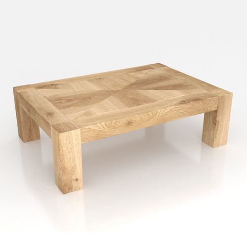 Cube coffee table