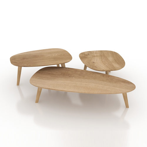 3 Seastones coffee table