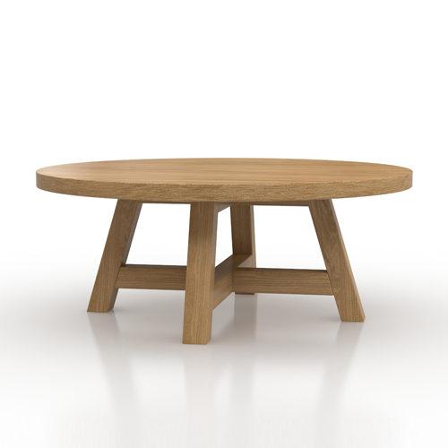Art Coffee Table_oak