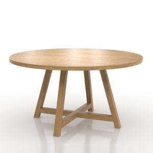Art Table_oak
