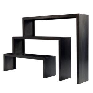 Babilonia big irony bookcase_black