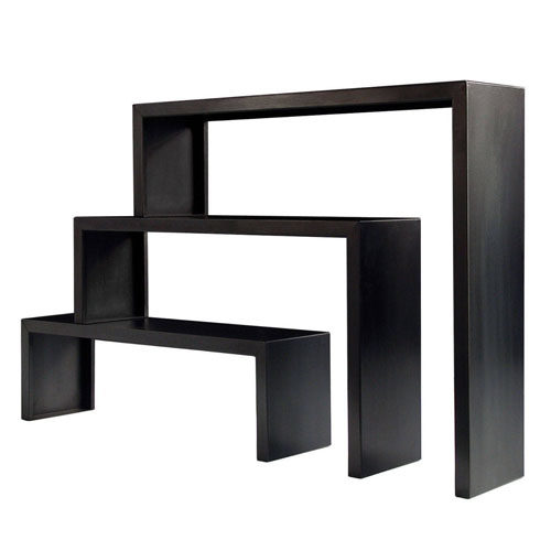Babilonia big irony bookcase_black