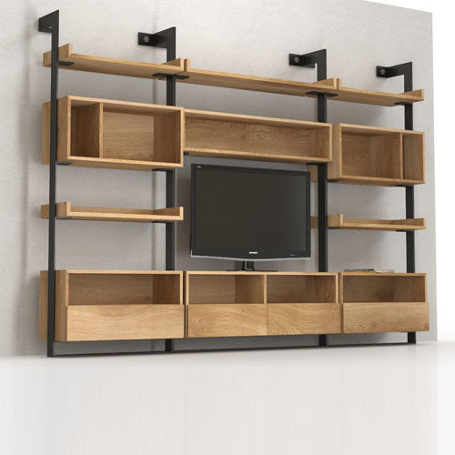 Big Asymmetry bookcase