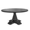 Column leg round table