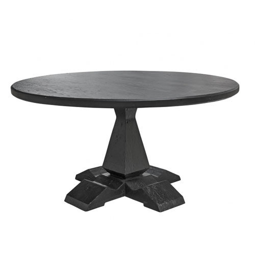 Column leg round table