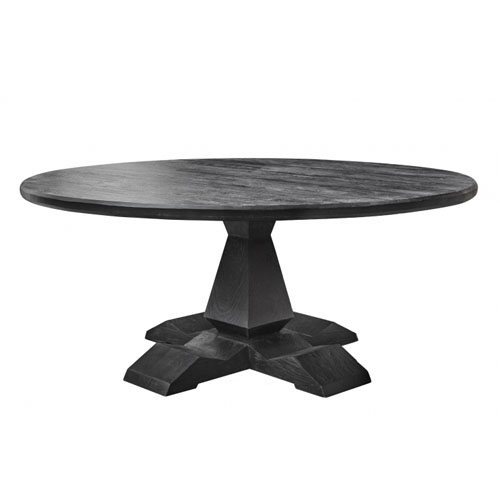 Column leg round table-f4